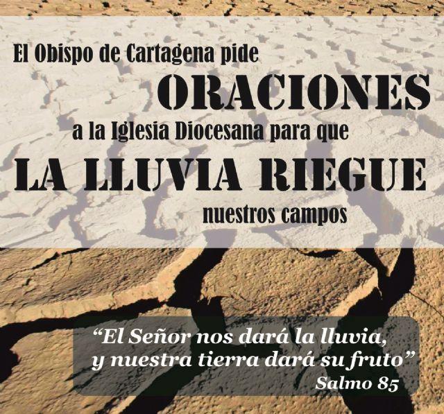 El Obispo pide a la Iglesia diocesana oraciones para que la lluvia riegue nuestros campos - 1, Foto 1