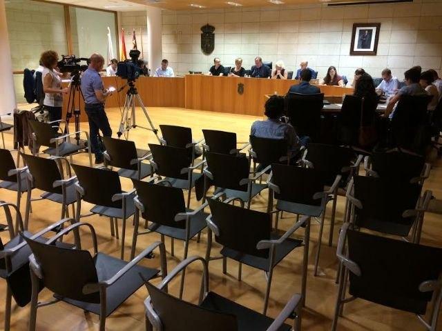 El Pleno aprueba solicitar a la Consejería de Cultura una subvención para rehabilitar la fuente