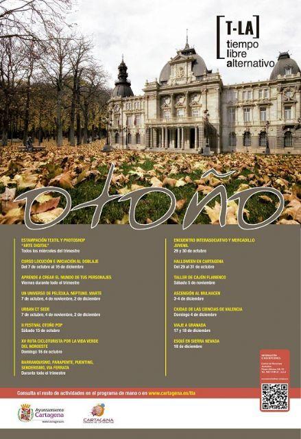 Viajes, talleres y actividades de terror protagonizan el TLA de otoño - 2, Foto 2