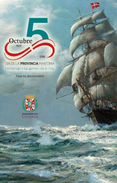 Cartagena rendirá homenaje a las gentes de la mar en el Día de la Provincia Marítima - 1, Foto 1
