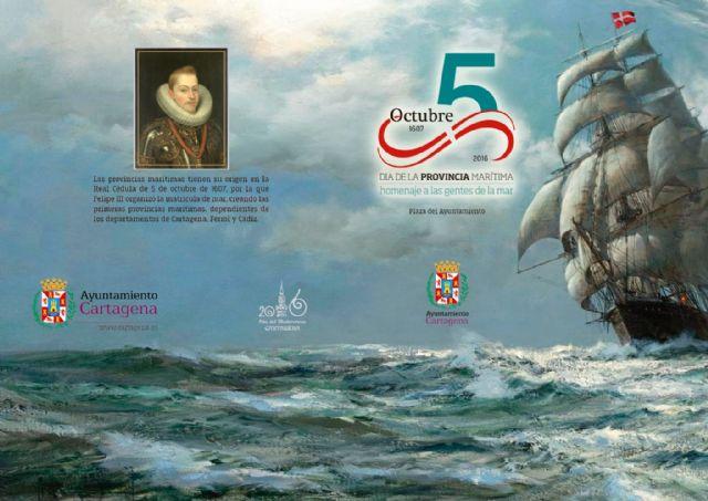 Cartagena rendirá homenaje a las gentes de la mar en el Día de la Provincia Marítima - 2, Foto 2