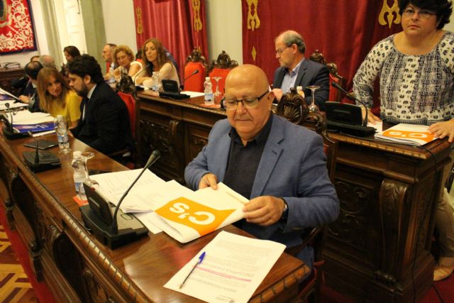 Ciudadanos Cartagena llevará al próximo pleno las mociones que no pudo defender en el anterior por los insultos del alcalde - 1, Foto 1