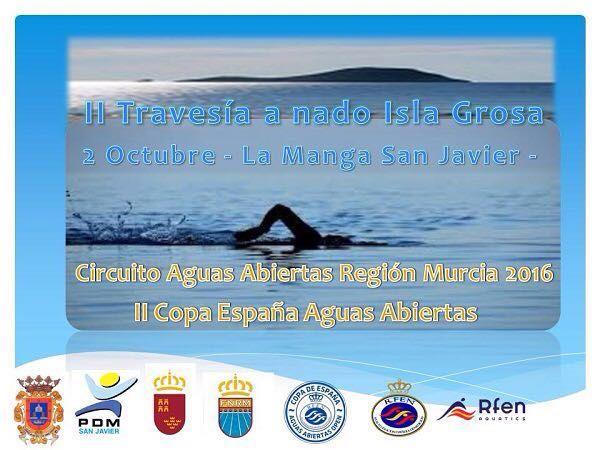 El deporte vuelve a protagonizar el fin de semana en San Javier con el TriWhite Cup 2016 y la II Travesía a Nado Isla Grosa - 2, Foto 2