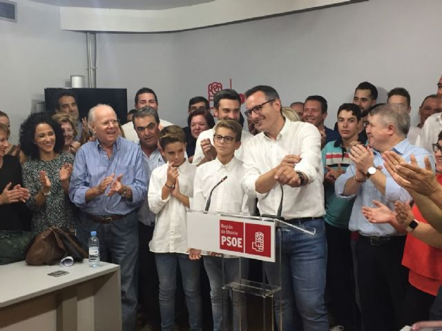 Diego Conesa, elegido secretario general del PSRM-PSOE, Foto 1