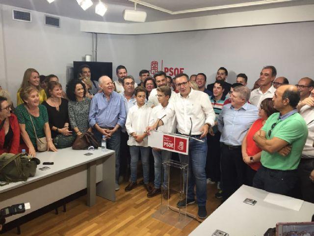 Diego Conesa, elegido secretario general del PSRM-PSOE, Foto 2