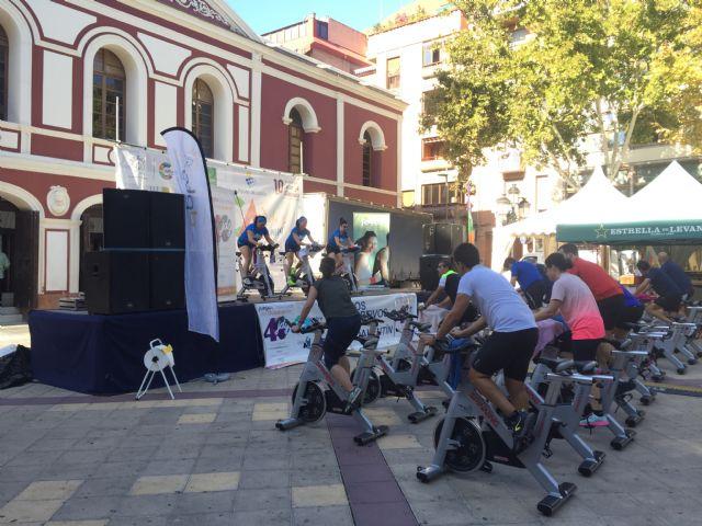 La Plaza de Calderón se convierte en un gimnasio al aire libre con el Fitness Day de los Juegos del Guadalentín - 1, Foto 1