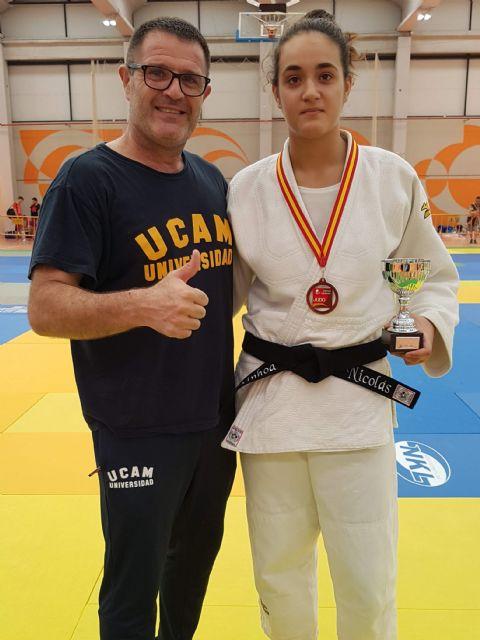 Judo: Ainhoa Nicolas Bronce en la Super Copa de España Junio - 2, Foto 2