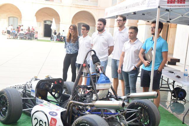 El UPCT Racing Team presenta su nuevo bólido de combustión, que pasa de 0 a 100 en 3,2 segundos - 1, Foto 1