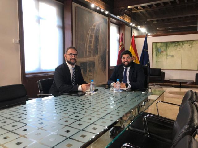 El Alcalde de Lorca plantea a López Miras la necesidad de que la CARM culmine los proyectos que aún quedan pendiente en el municipio - 1, Foto 1