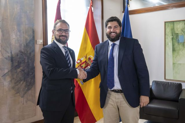 López Miras se reúne con el alcalde de Lorca - 1, Foto 1