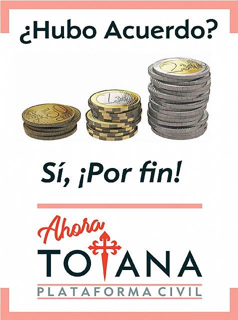 Vecinos de Totana: ¡¡Por fin hubo acuerdo!! - 1, Foto 1