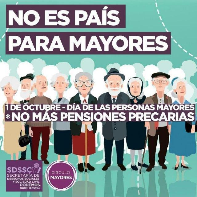 María Marín: necesitamos establecer un equilibrio social donde el nivel de solidaridad intergeneracional sea una piedra angular - 1, Foto 1