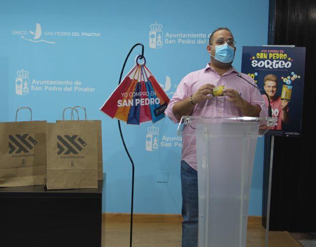 El Ayuntamiento de San Pedro del Pinatar destina 1.000 euros a la nueva campaña #yocomproensanpedro - 1, Foto 1