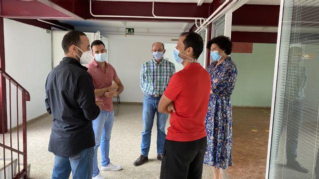 El Ayuntamiento posibilita el traslado de alrededor de 130 alumnos de los ciclos formativos del IES Rambla de Nogalte al antiguo colegio Sagrado Corazón - 2, Foto 2