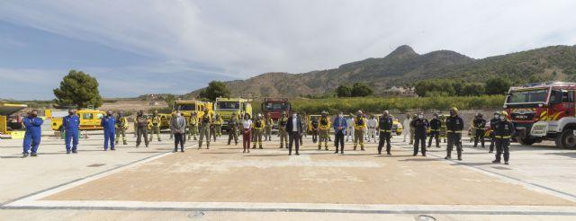 Las brigadas forestales reforzarán la labor municipal de desinfección de espacios públicos en la lucha frente a la covid-19