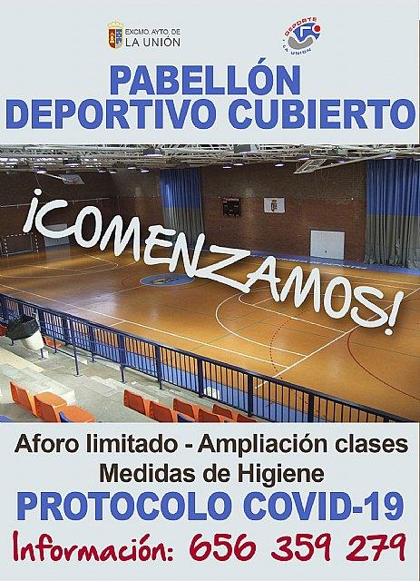 Las actividades deportivas municipales comenzarán el 5 de Octubre - 1, Foto 1