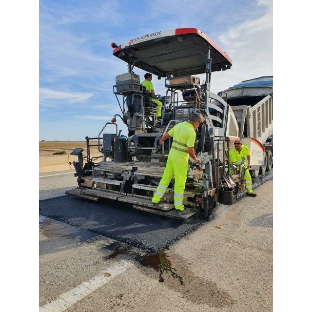 Mejoran la seguridad de la autovía del Mar Menor con la renovación del firme - 2, Foto 2