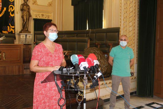 La alcaldesa informa de la ligera mejora de los datos epidemiológicos en Jumilla - 1, Foto 1