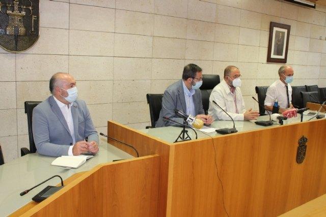 El gerente del Servicio Murciano de Salud advierte que Totana permanecerá confinada al menos 3 semanas siempre que la evolución epidemiológica sea favorable