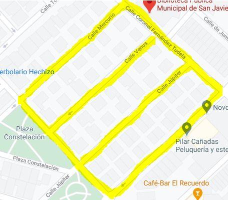 El PSOE y los mercaderes proponen al Ayuntamiento de San Javier dos posibles ubicaciones para el mercado semanal - 1, Foto 1