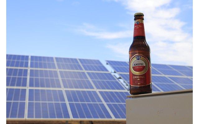 El sol es el nuevo ingrediente secreto de la cerveza Amstel - 1, Foto 1