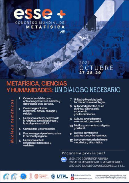 VIII Congreso Mundial de Metafísica - 1, Foto 1