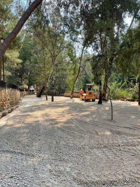 Visita a las obras de adecuación de la segunda fase en las terrazas del Santuario de Nuestra Señora de la Esperanza - 3, Foto 3