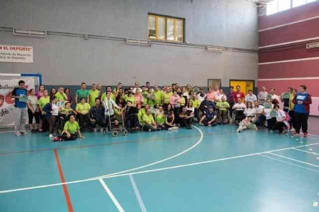 Mazarrón acoge el I Encuentro Deportivo Intercentros para personas con discapacidad intelectual