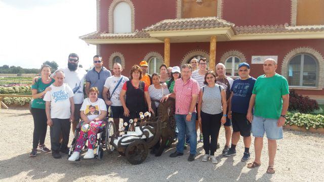 Los Centros de Día para la Discapacidad del Ayuntamiento reanudan el Taller de Jardinería después de las vacaciones veraniegas