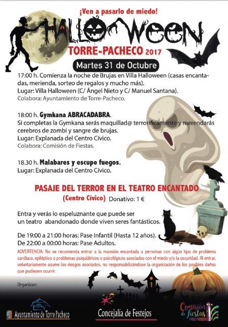 Disfruta de la noche más terroríficamente divertida del año en Torre-Pacheco. Villa Halloween te espera - 3, Foto 3