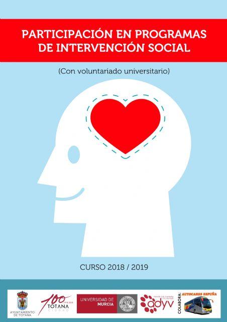 La Concejalía de Juventud oferta los proyectos de voluntariado universitario sobre refuerzo educativo y en programas de intervención social - 2, Foto 2