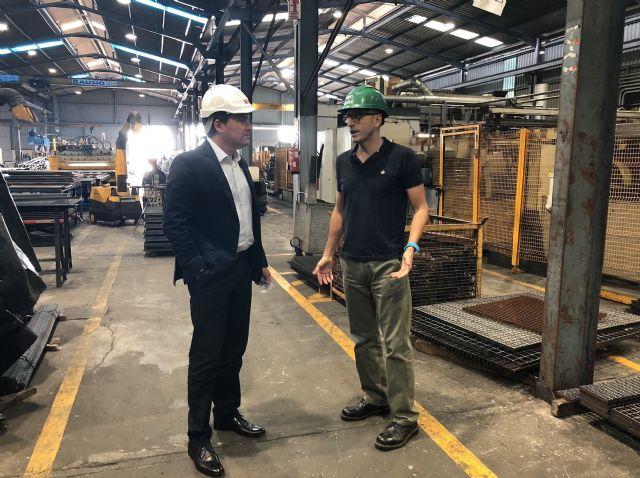 El alcalde de Fuente Álamo visita al Grupo Relesa para conocer su actividad y estudiar la ampliación de las instalaciones - 1, Foto 1