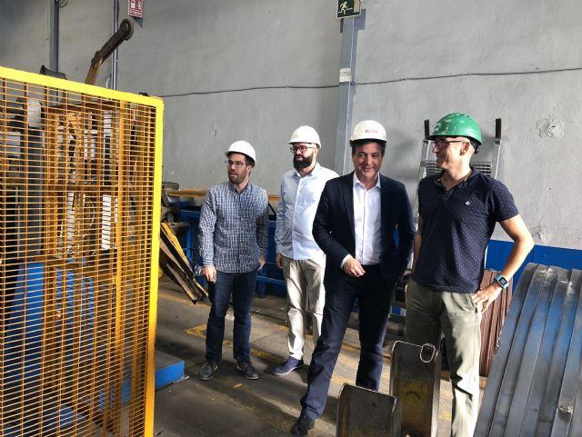 El alcalde de Fuente Álamo visita al Grupo Relesa para conocer su actividad y estudiar la ampliación de las instalaciones - 2, Foto 2