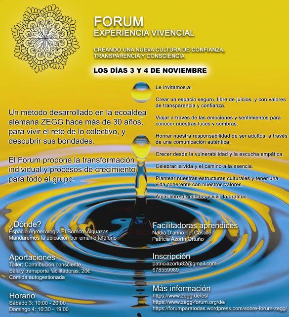 Forum: El colectivo como herramienta de transformación cultural - 1, Foto 1