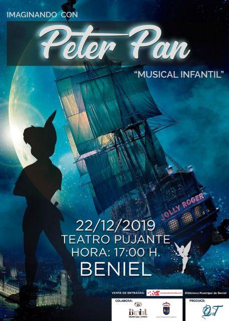 El musical Imaginando con Peter Pan aterriza el 22 de diciembre en la Región de Murcia - 1, Foto 1