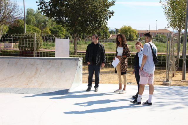 El nuevo skate park de Alhama abrirá en unas semanas, Foto 4