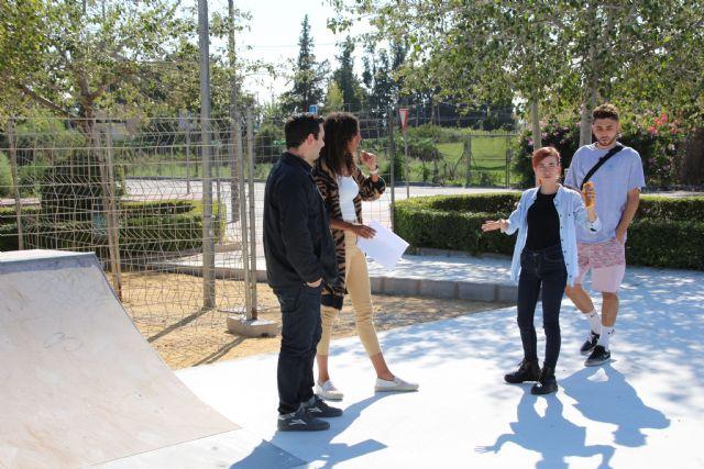 El nuevo skate park de Alhama abrirá en unas semanas, Foto 5
