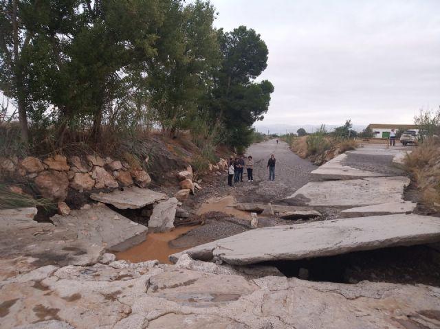 La Comunidad Autónoma aprueba la reparación del camino público El Cementerio tras los daños de la DANA - 3, Foto 3