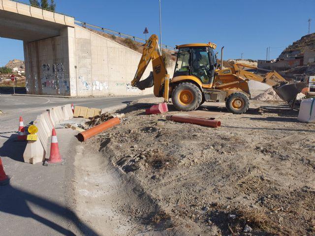 Renuevan el drenaje y refuerza el firme de la carretera regional que comunica la pedanía archenera de La Algaida con Lorquí - 1, Foto 1