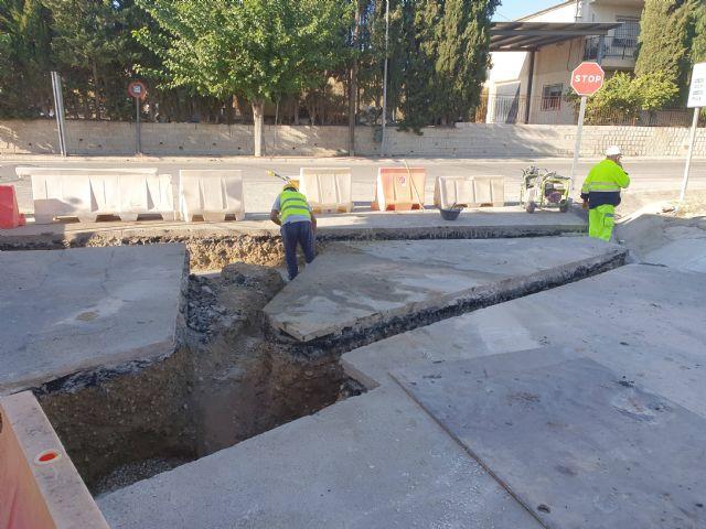 Renuevan el drenaje y refuerza el firme de la carretera regional que comunica la pedanía archenera de La Algaida con Lorquí - 2, Foto 2