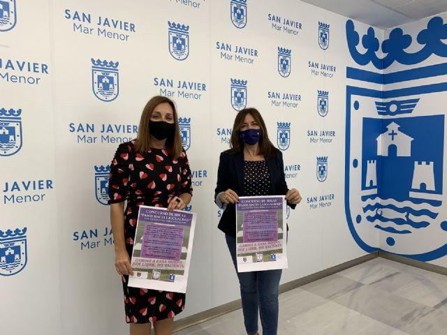 Los pasos de peatones de San Javier  incluirán mensajes artísticos sobre igualdad y contra la violencia de género - 1, Foto 1
