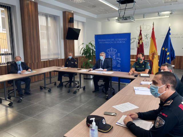 Cerca de 1.500 dispositivos de Policía Nacional y Guardia Civil colaborarán con el cierre de la Región y sus 45 municipios decretado por el Gobierno regional - 1, Foto 1