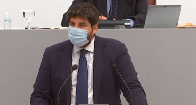 López Miras anuncia un Plan Especial de Contingencia para incorporar 500 camas más en los hospitales en solo 24 horas