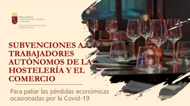 Subvenciones a trabajadores autónomos de hostelería y comercio por la Covid-19, Foto 1