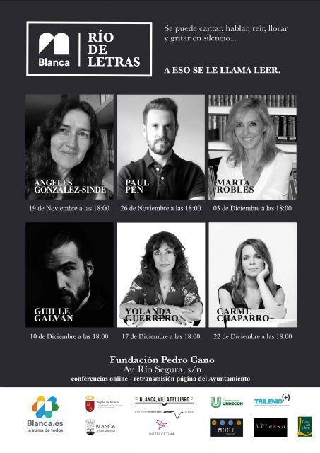 Ángeles González-Sinde abrirá en noviembre el Ciclo Literario 'Río de Letras' - 1, Foto 1