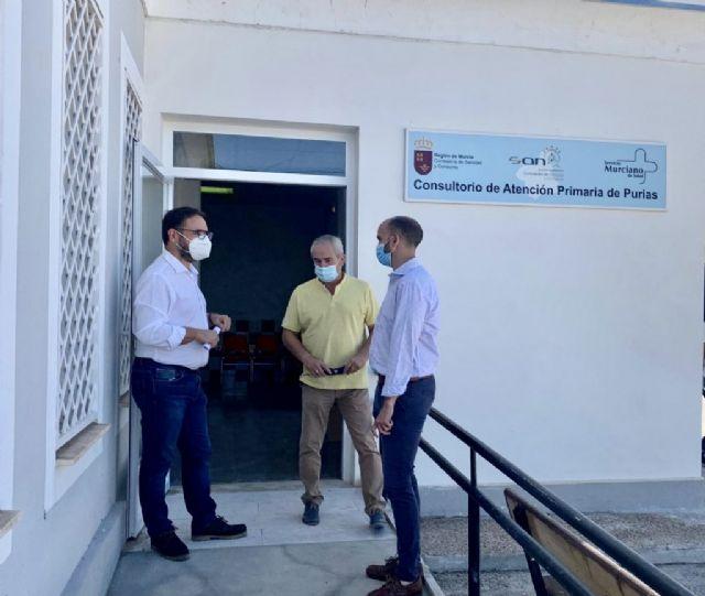 El Ayuntamiento de Lorca informa de la reapertura de los consultorios médicos de Aguaderas, Purias, La Escucha, Puente La Pía, Campo López y Marchena - 1, Foto 1