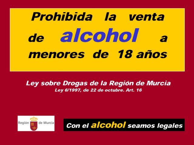 Vídeo. Campaña de concienciación para prohibir la venta y consumo de alcohol a menores de 18 años
