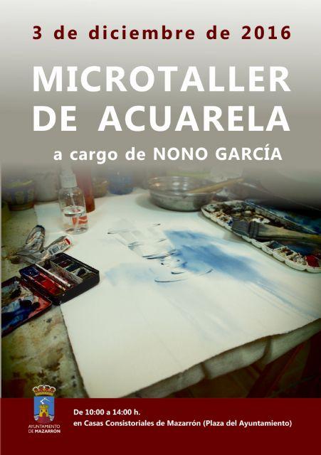Nono García imparte un taller de acuarela en Casas Consistoriales, Foto 1