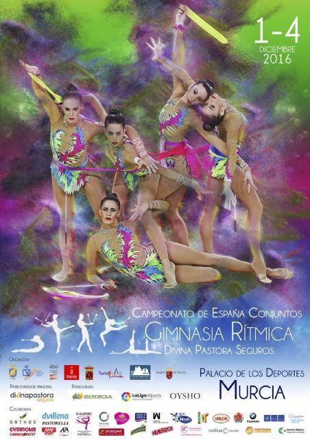 Un total de 67 gimnastas de cinco clubes de la Región participan en el campeonato de España de Gimnasia Rítmica de Conjuntos - 1, Foto 1