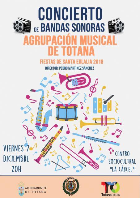 La Agrupación Musical de Totana celebra un concierto con motivo de las fiestas de Santa Eulalia